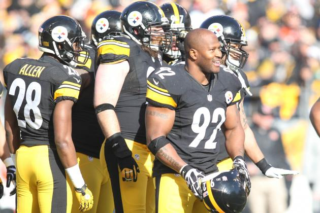 James Harrison's Contract Situation Will Force Steelers to Release Aging LB
