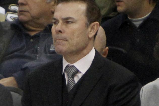 Adam Oates Uses Rout of Florida to Manage Capitals' Minutes