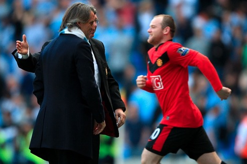 Manchester City Boss Mancini: Rooney Not Coming Here