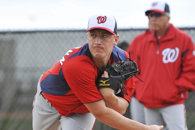 Jordan Zimmermann Dealing with a 'Dead Arm'