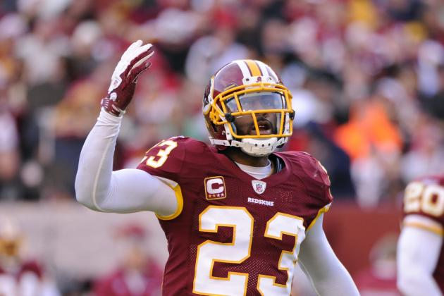 NFL Cuts 2013: Latest Buzz on Future of DeAngelo Hall, Nnamdi Asomugha and More