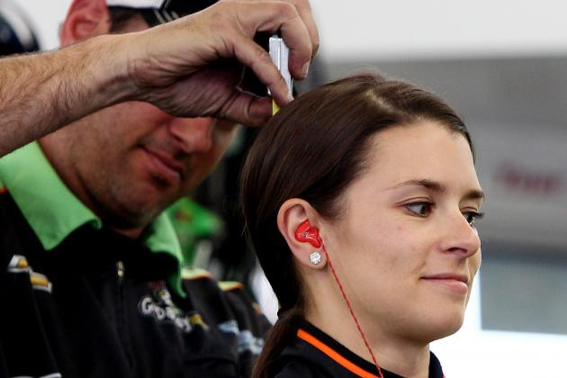 Danica Patrick Got Hit in the Head with a Rock
