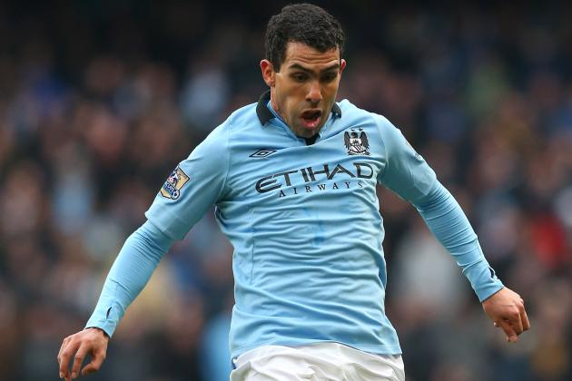 Carlos Tévez to Play in FA Cup Tie Despite Driving Arrest