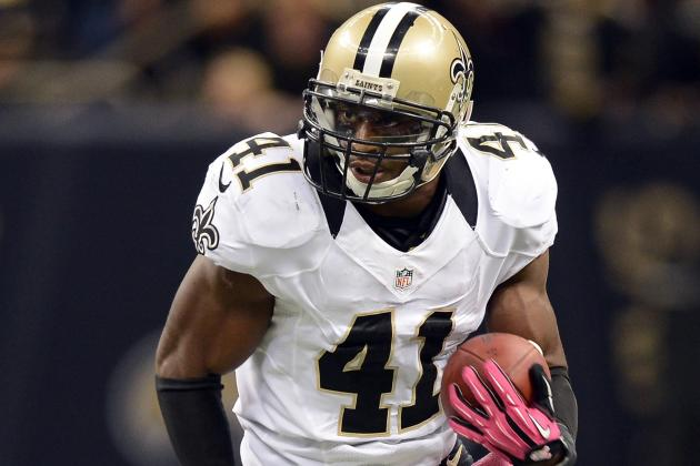Saints' Roman Harper Looking Forward, Not in Rearview Mirror