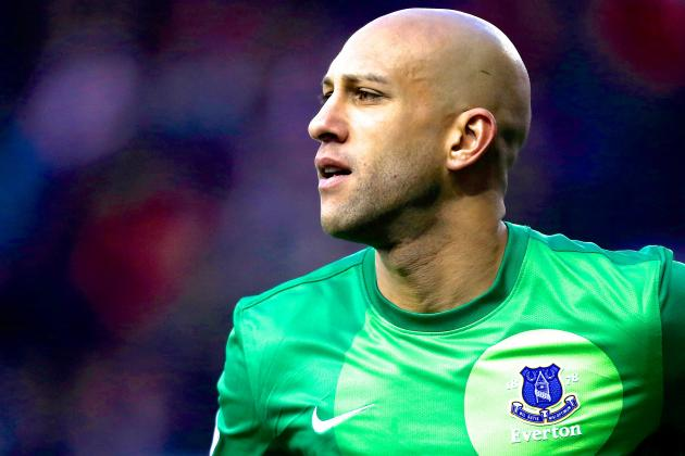 Tim Howard Injury: Updates on Everton Star's Back