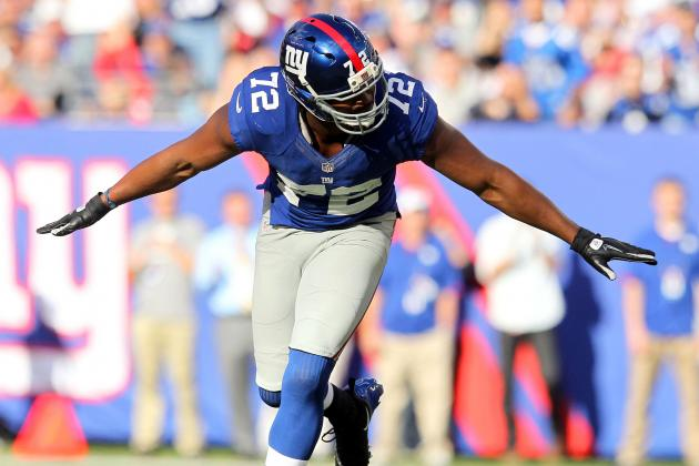 Osi Umenyiora Says He'll Be Defensive Player of the Year in 2013