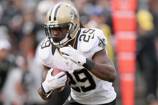 New Orleans Saints Issue Second-Round Tender on RB Chris Ivory