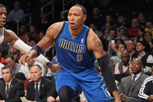 Shawn Marion out Against the Pistons