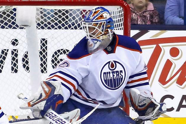 WATCH: Devan Dubnyk Gives Up Goal from Center Ice