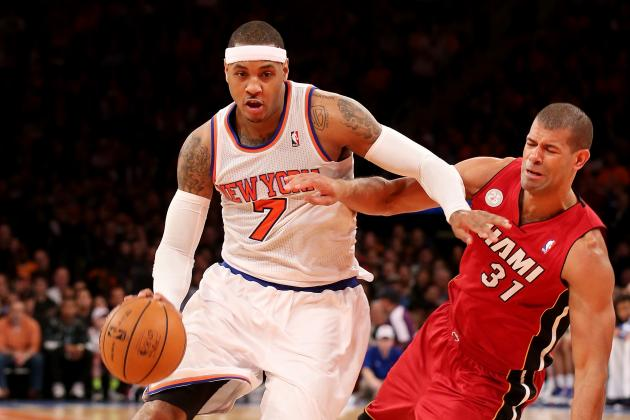 New York Knicks Will Only Go as Far as Carmelo Anthony Can Grow