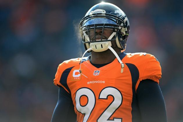 Elvis Dumervil, Broncos Continue Negotiations