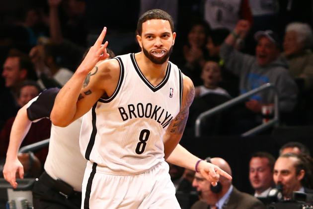VIDEO: Deron Williams Sets an NBA Record with Nine First Half 3s