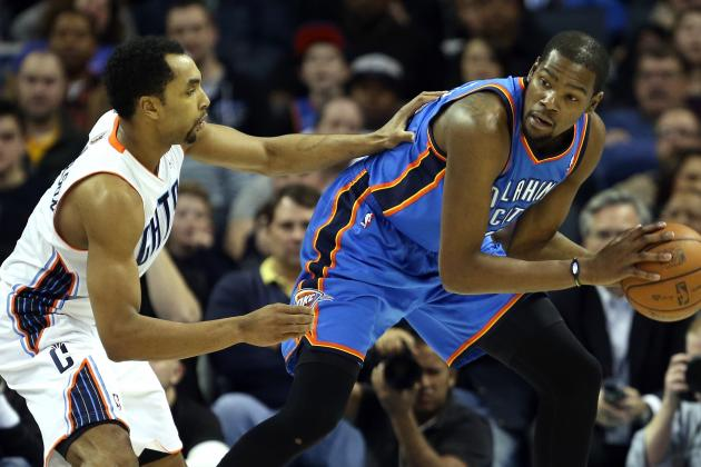 Thunder Stomp the Bobcats (again), 116-94