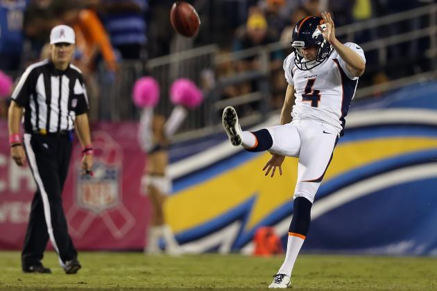Denver Broncos Give Punter Britton Colquitt, 4 Others 1-Year RFA Tenders