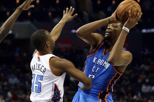 Bobcats Fall in Hole as Thunder Roll on