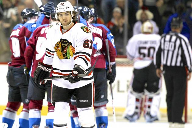 Chicago Blackhawks' Record-Setting Point Streak Snapped by Colorado Avalanche