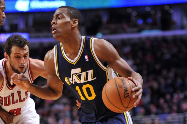 Utah Jazz's 2013 Playoff Push: Backcourt Needs Some Shuffling