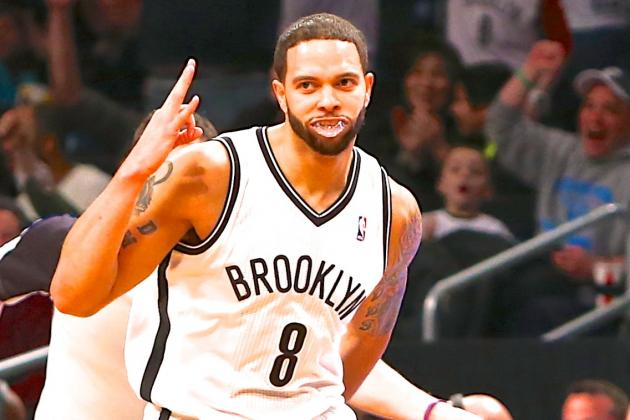 Deron Williams Breaks NBA Record With 9 First Half 3-Pointers vs. Wizards