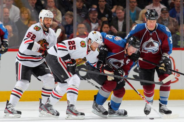 Hawks Streak Ends with 6-2 Loss to Avs