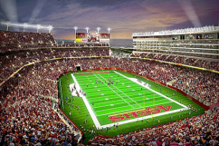 Niners Striking Gold with Ticket Sales at New Stadium