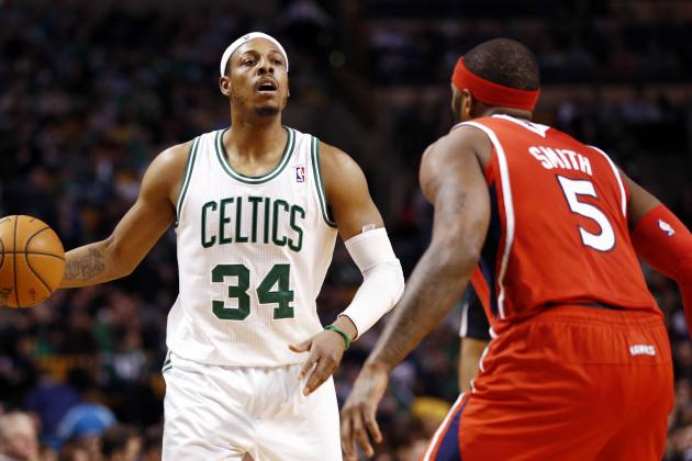 Pierce, Terry Lead Celtics on 107-102 OT Win over Hawks