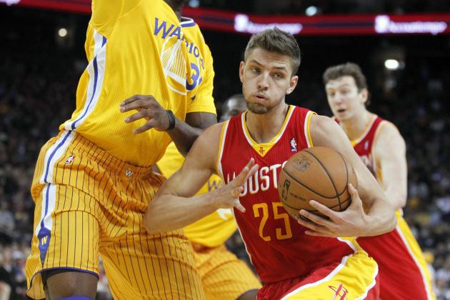 With Offense Sputtering, Rockets Beat Warriors with Defense