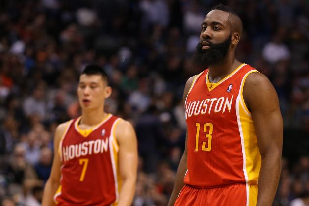 James Harden and Jeremy Lin in New Territory During Rockets Playoff Hunt