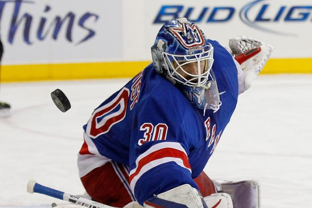 Swedes on Both Ends of Ice End Rangers' Streak