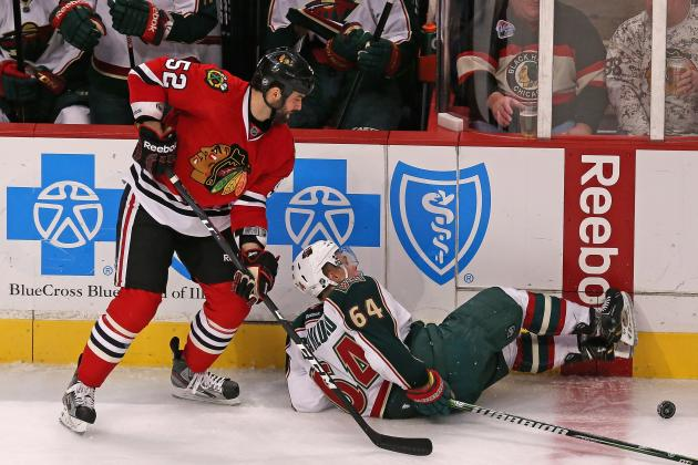 Chicago Blackhawks: Defending Brandon Bollig and the 5-Minute Men