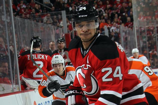 Devils Captain Bryce Salvador Sidelined with Upper Body Injury