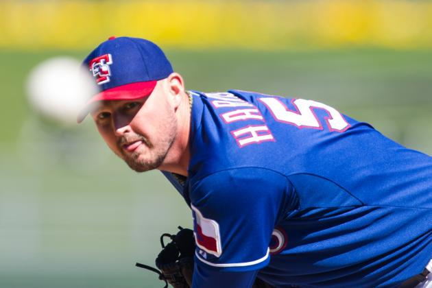 Matt Harrison Scratched from Cactus League Start Due to Toe Injury