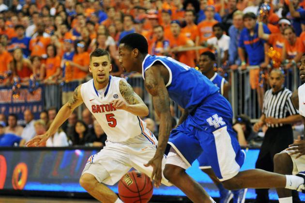 Kentucky Keeps Tournament Hopes Alive with 61-57 Upset of No. 11 Florida
