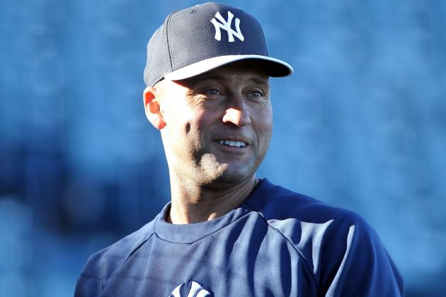 Jeter Starting at DH, Leading off in Spring Debut