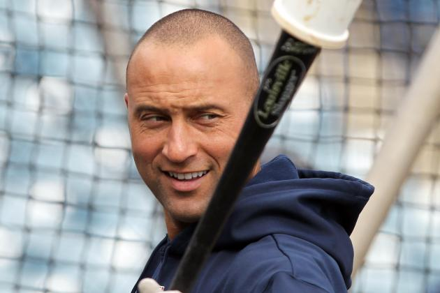 Jeter to DH in First Game Since Breaking Ankle