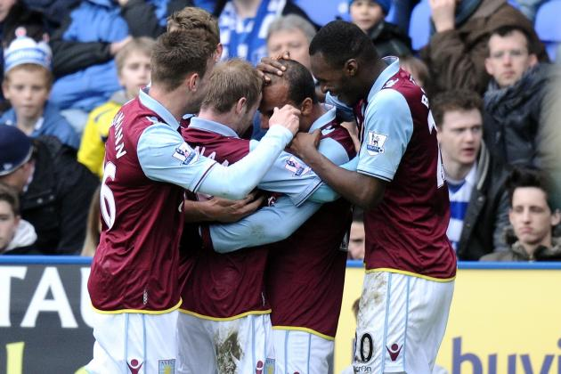 Benteke and Agbonlahor Lift Lambert's Men out of Bottom Three