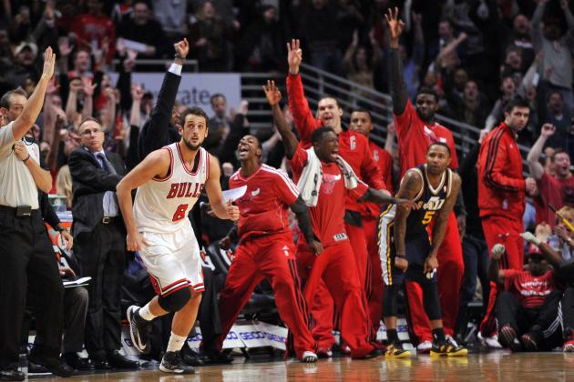 Marco Belinelli Hits the Game-Winning Three to Beat the Jazz (VIDEO)