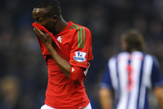 Swansea Lose to West Brom as Roland Lamah Strike Is Ruled out