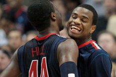 Arizona Wildcats Leaders Solomon Hill and Kevin Parrom Make Final Appearance