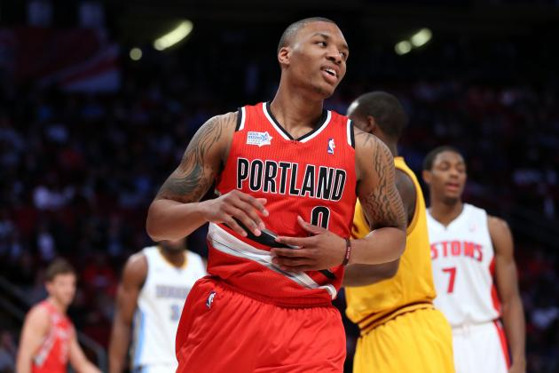 Is Damian Lillard Having a Better Inaugural Season Than Kyrie Irving's 2012?