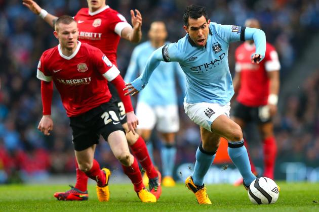 Manchester City Trounces Barnsley, 5-0, in FA Cup
