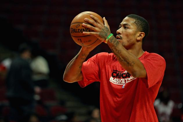 Derrick Rose Wise to Delay His Return from Knee Injury