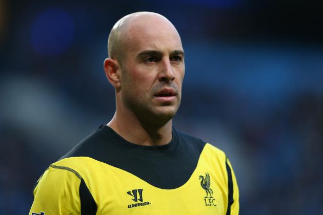 Jose Reina Is Key to Liverpool Success, Says Manager Brendan Rodgers