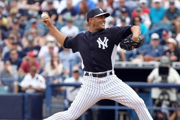 Mariano Rivera Spotless in First Game Action Since Knee Surgery