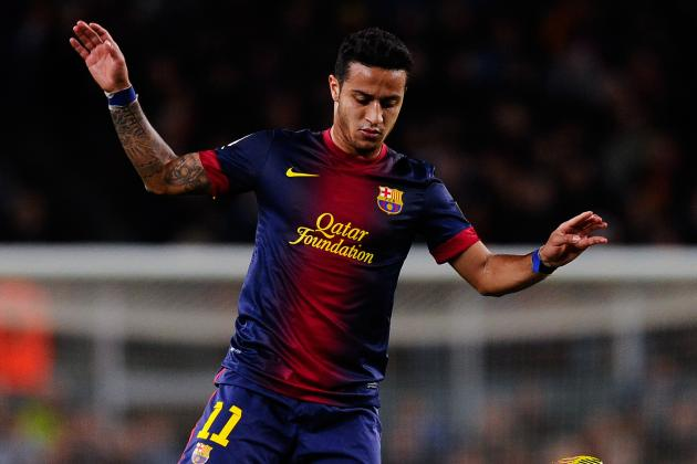 Thiago Alcantara Was Barcelona's Star Performer vs. Deportivo