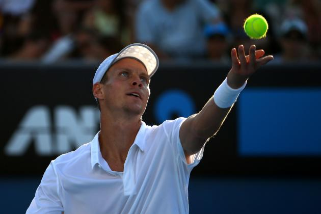 Kevin Anderson Upsets No. 4  David Ferrer