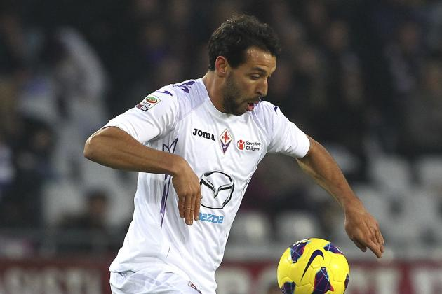 Fiorentina Striker Mounir El Hamdaoui Flattered by Liverpool Link