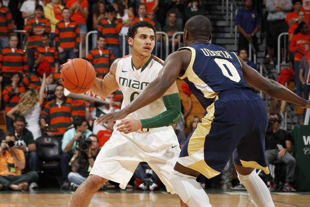 No. 6 Miami Wins Outright ACC Regular Season Title for 1st Time with 62-49 Win