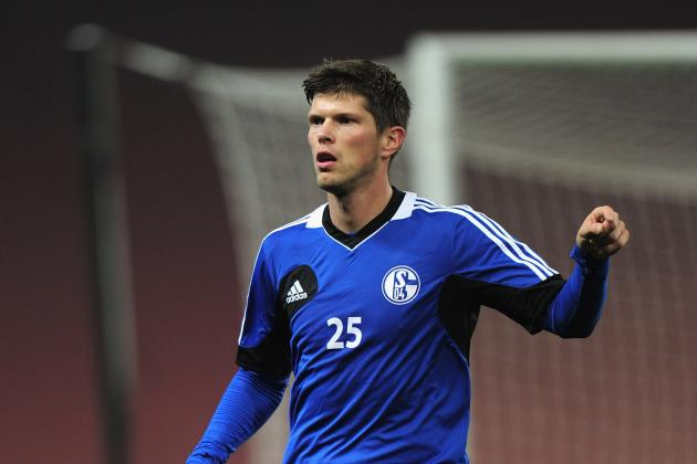 Klaas-Jan Huntelaar out vs. Galatasaray