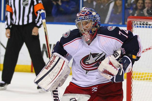Jackets' Bobrovsky Registers 1st Career Shutout