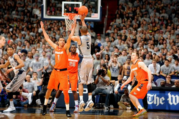 Georgetown 'Kisses Syracuse Good-Bye'' with 61-39 Win over the Orange